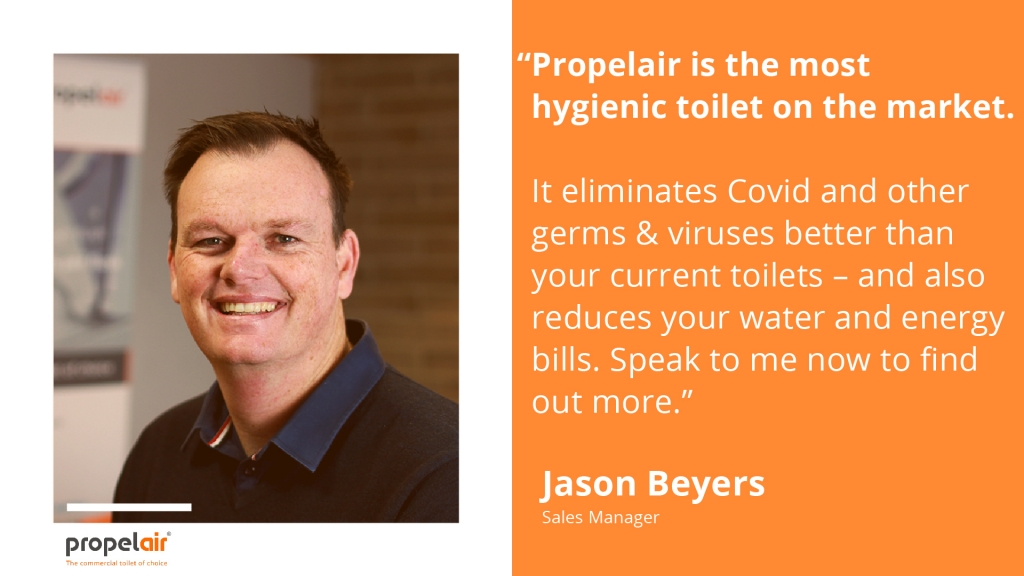 Jason Beyers is the international sales manager at Propelair