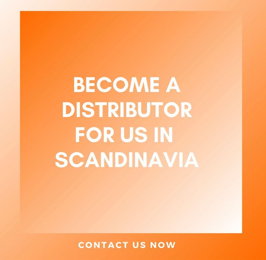 Become our Scandinavian sales partner